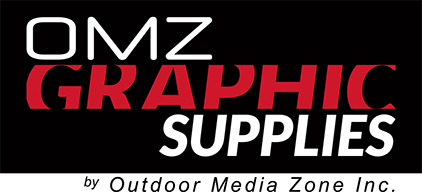 OMZ Graphic Supplies Retina Logo