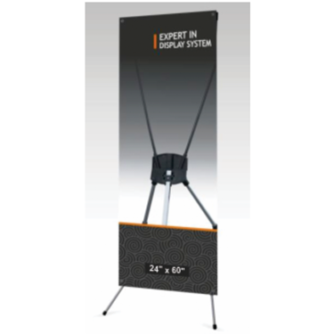 X & L Banner Stands